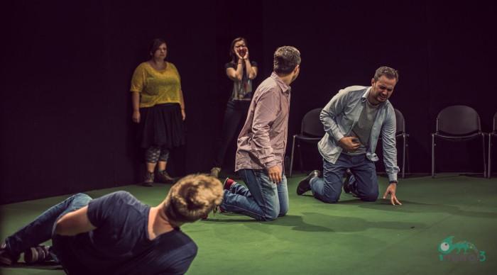 Talent şi multă energie pe scena Teatrului Naţional Bucureşti