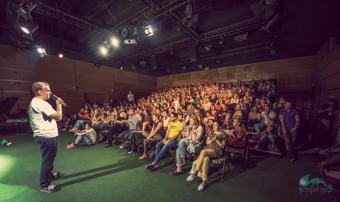 IMPRO Foto: Talent şi multă energie pe scena Teatrului Naţional Bucureşti (4/5)