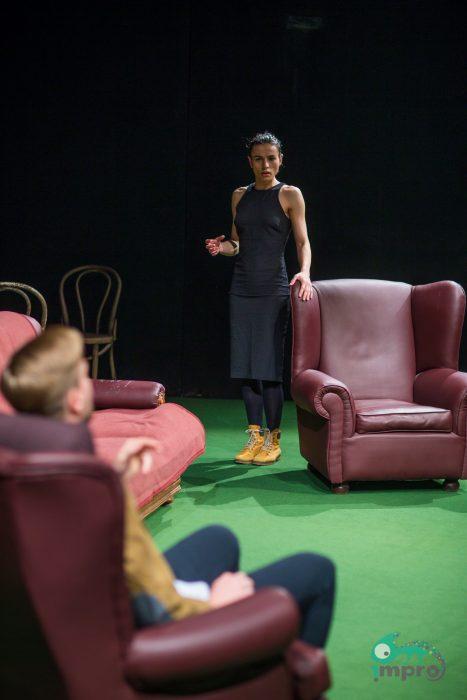 IMPRO Foto: O discuţie sinceră cu Delia Riciu despre intimitate (6/12)